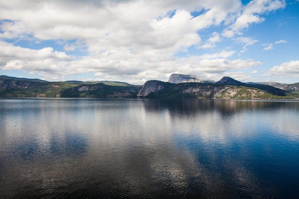 Nisser innsjø, Nissedal