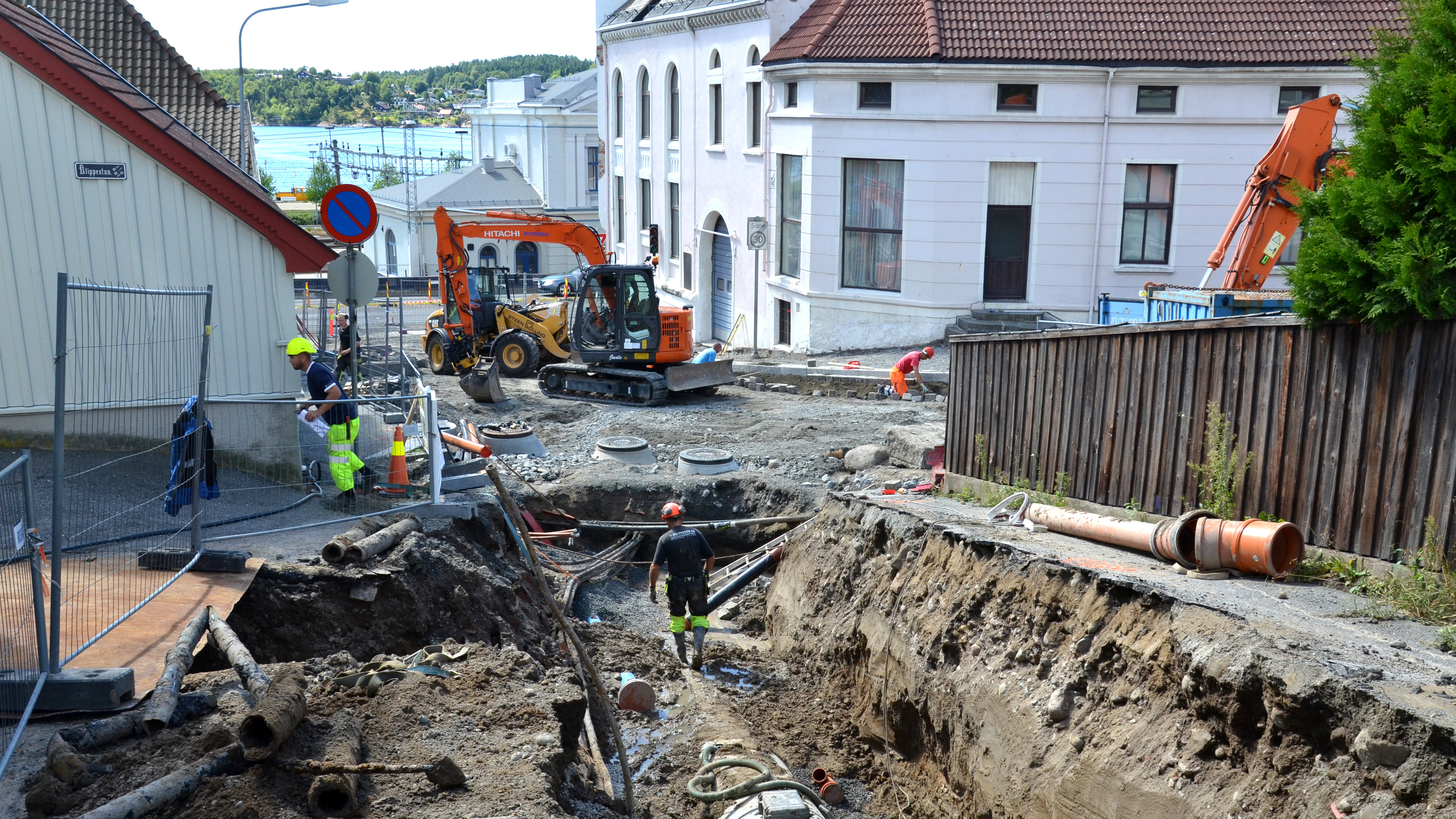 Vannlekkasjer og problemer med gamle rør i mange norske kommuner