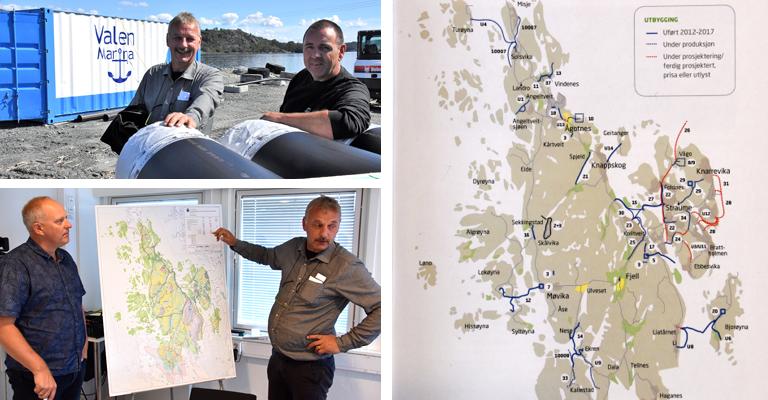 Fjell kommune har færre vannlekkasjer, sier driftssjef Cato Dahle hos FjellVAR